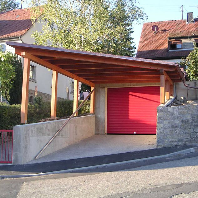 Referenzen Carport